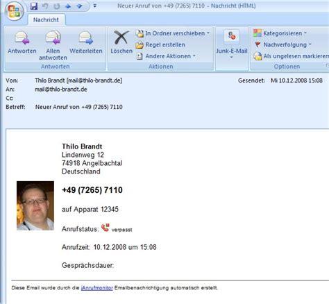 Email Template Vorlagen Wie Kann Ich Eigene Vorlagen F 252 R Die Emailbenachrichtigung Erstellen Janrufmonitor