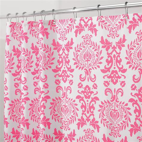 pink shower curtains fabric pink vinyl shower curtain liner curtain menzilperde net