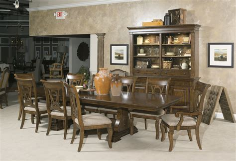 kincaid dining room kincaid portolone livorno rectangular dining table set in