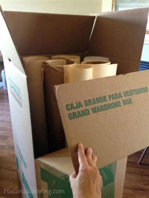 grand wardrobe box tips for packing moving a sewing room