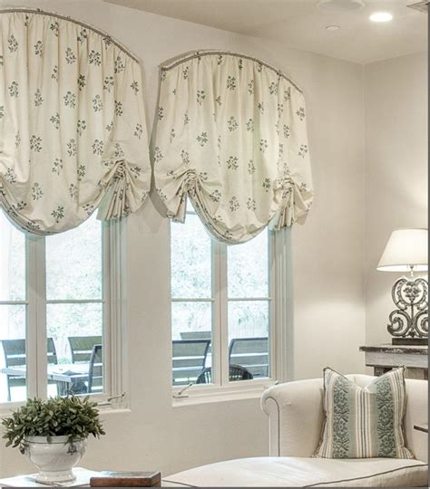 Balloon Shade Window Treatments » Home Design 2017