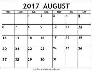 Kalender 2018 August September Printable 2017 August Calendar