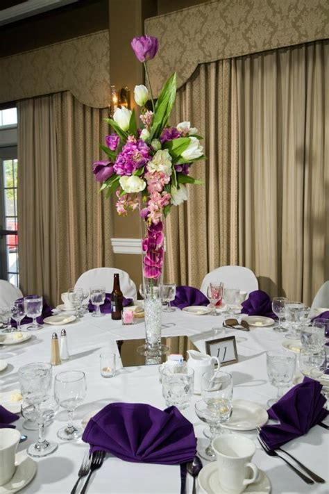 for sale real touch flower wedding centerpieces tall