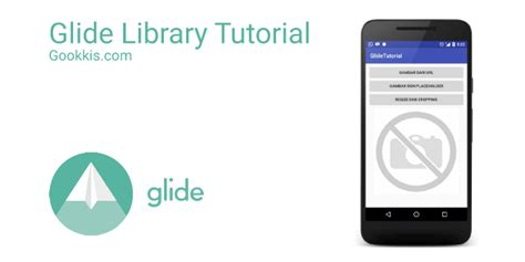 tutorial android library android image library glide tutorial gookkis studio