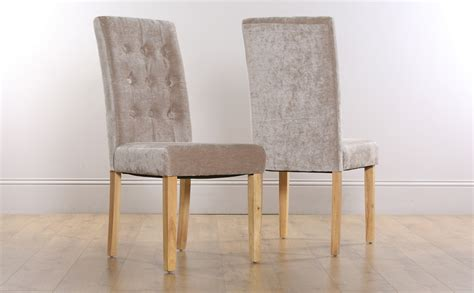 dining room fabric chairs 2 4 6 8 regent mink fabric dining room chairs oak leg ebay