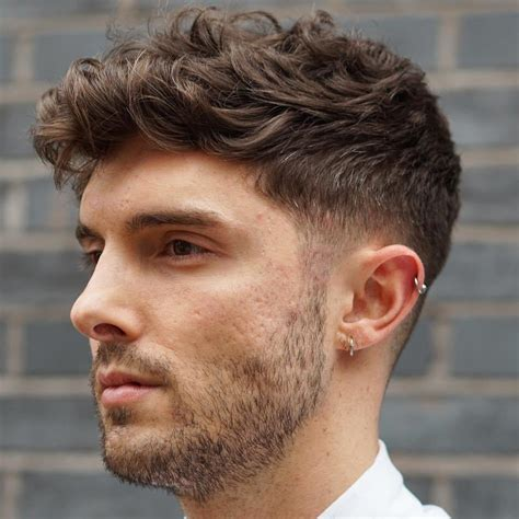 hairstyles for boys with thick wavy hair 40 statement hairstyles for men with thick hair