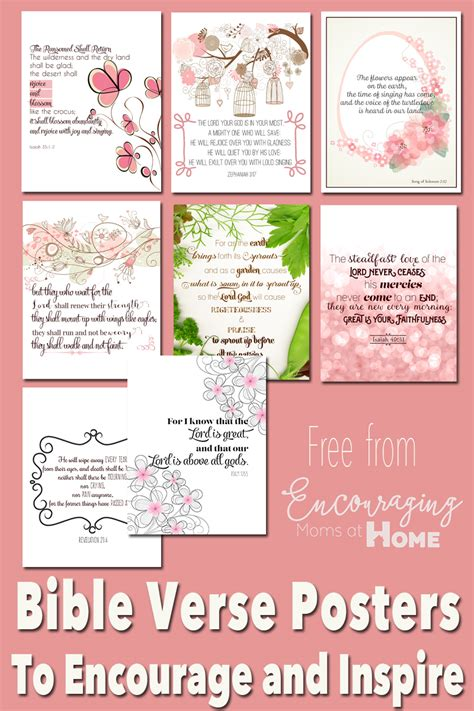 Posters Printable Free Printable Bible Verses To Encourage And Inspire