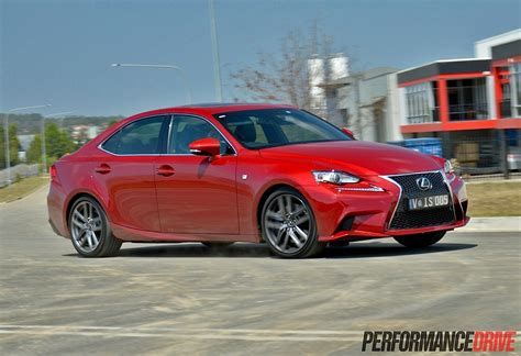 lexus sport 2014 2014 lexus is 350 f sport review video performancedrive