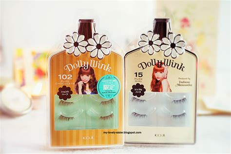 Koji Dollywink Eyelashes No 1 Bulu Mata Dollywink Murah my lovely a with most loved 10