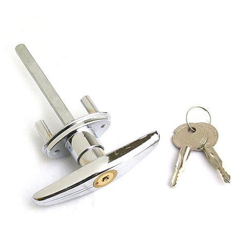 Garage Door Lock T Handle by Garage Door Lock T Handle Knob With 2 Replacement
