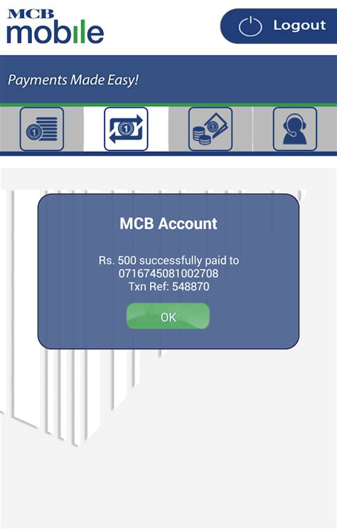 ugf home banking mcb mobile banking application android apps on play