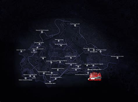 nfs most wanted wagen need for speed most wanted fundorte aller 31 autos