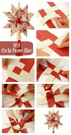 make german stars for christmas crafting colored paper