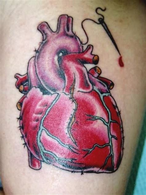 human heart tattoo designs human