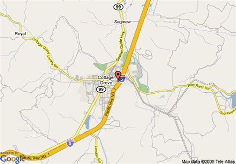 cottage grove oregon map afputra com