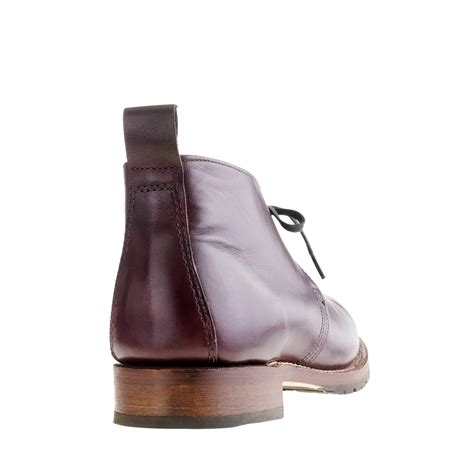 j crew boots mens j crew wing 174 for j crew beckman chukka boots in