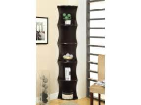 living room corner shelves coaster living room corner shelf 801182 michael anthony
