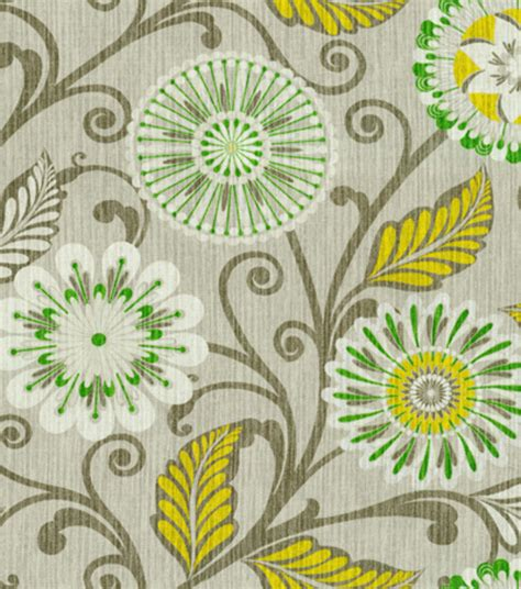 joann fabrics home decor home decor print fabric hgtv home urban blosson platinum