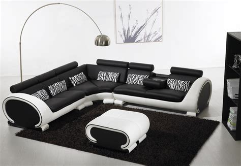 black and white leather sofas black and white leather sofa set for a modern living room