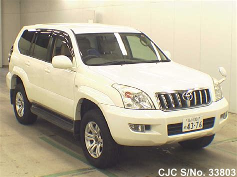 2006 Toyota Prado For Sale 2006 Toyota Land Cruiser Prado Pearl For Sale Stock No
