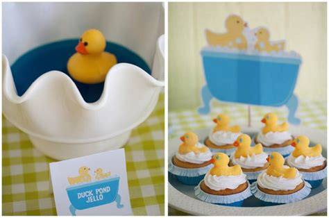 cupcake rubber st rubber ducky 1st birthday pizzazzerie