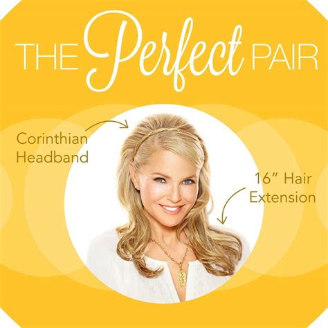 perfect hair collection promo code christie brinkley s hair2wear hair extensions are back