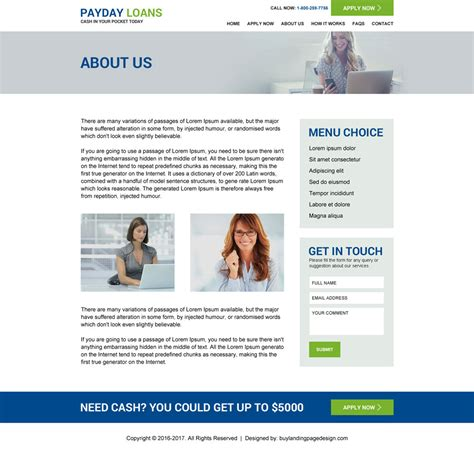 about us page template effective website template to create your presence