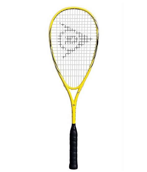 dunlop fury 20 squash racket buy at best price on snapdeal