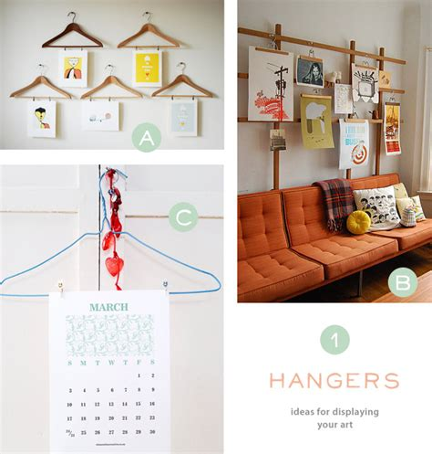 how to hang prints creative ideas for displaying your posters art and calendars