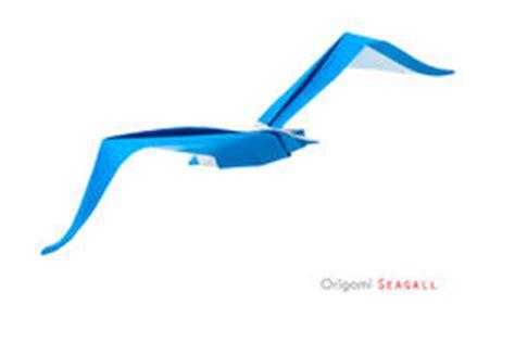 origami gabbiano gabbiano di origami fotografia stock immagine 32648500