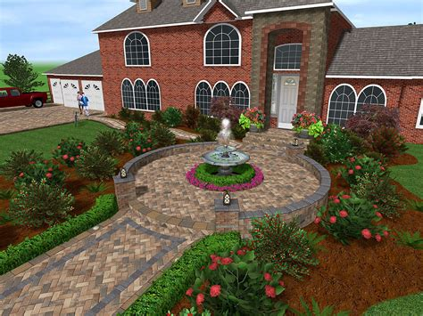 free home yard design software professional landscaping software by idea spectrum