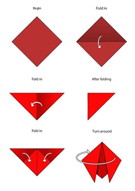 Simple Origami For Printable - 17 best images about simple origami for on