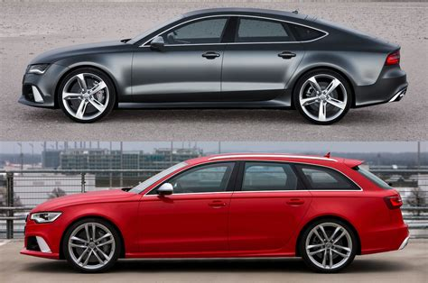 audi rs wagon totd one audi rs 7 hatch or rs 6 wagon