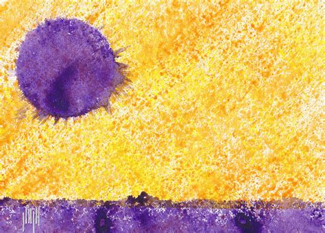 lavender sun painting by eric forster