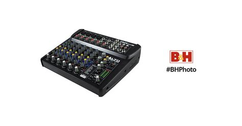 Mixer Alto Zmx122fx alto professional zephyr zmx122fx 8 channel mixer zmx122fx b h