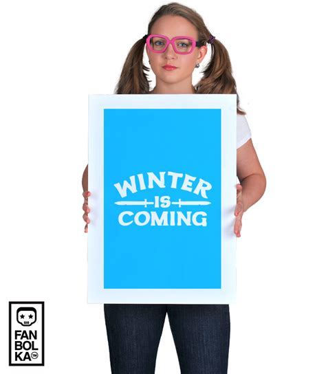 Tshirt Winter Is Coming Vi fanbolka