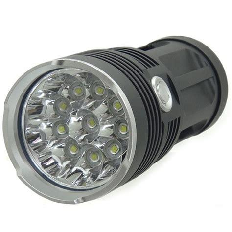 Senter Outdoor lu senter waterproof led xm l t6 4000 lumens black