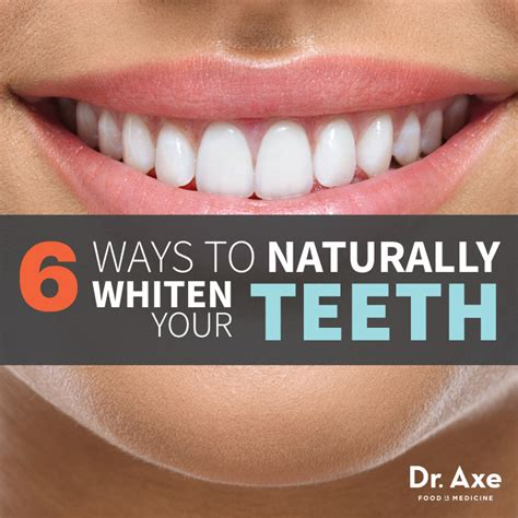 6 ways to naturally whiten your teeth st clair periodontist