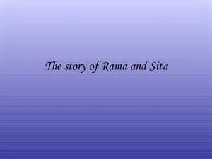 The Story Of The Story Of Rama And Sita