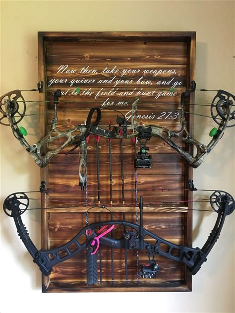 bow rack ideas  pinterest archery hunting bowhunting archery hunting  bow