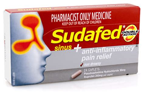 sudafed before bed sudafed double action congestion sinus pain relief towers pharmacy