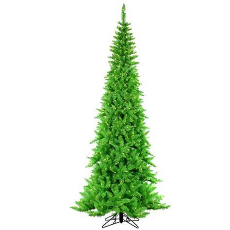 7 5 lime prelit christmas tree