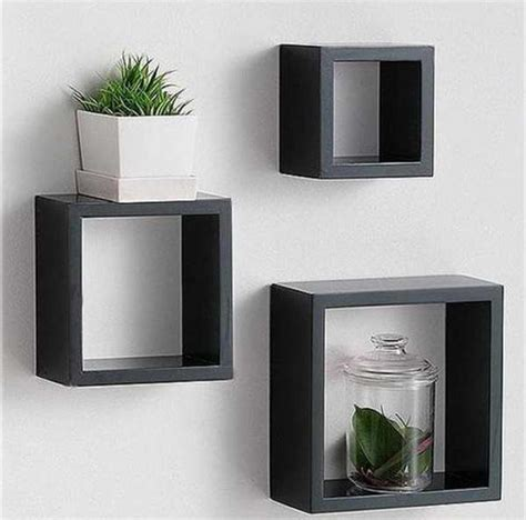 block shelf bloombety block wall shelf with glass toles block wall shelf