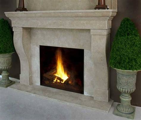stone gas fireplace faux river stone fireplace mantel on custom fireplace