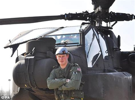 Top gun Prince Harry amazes helicopter instructors in the