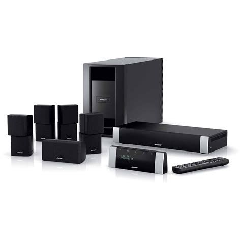 bose lifestyle v20 home theater system black 41793 b h photo