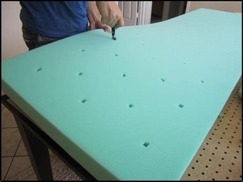 making a headboard with foam how to make headboard house to home blog