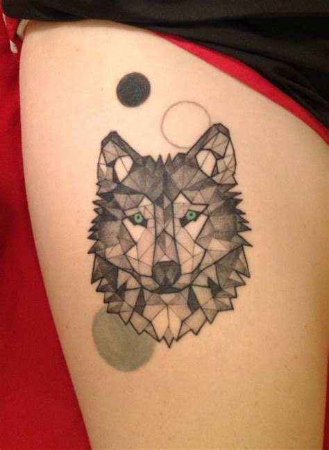 geometric wolf tattoo 50 of the most beautiful wolf designs the