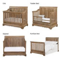 details about bertini pembrooke 4 in 1 convertible crib