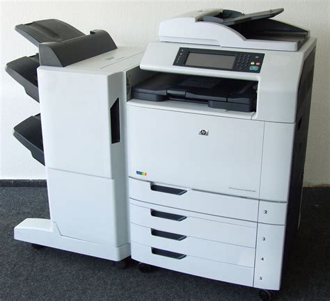 Hp Zu Metal hp color laserjet cm6030f mfp kopierer drucker fax